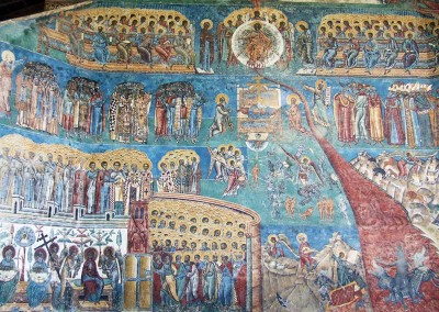 Voronet Monastery Murals