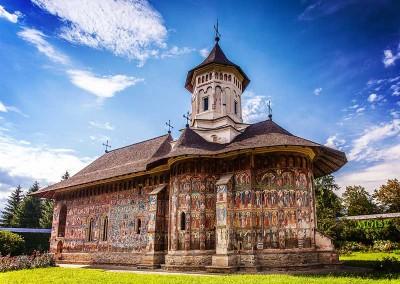 Moldovita Painted Monastery