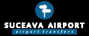 suceava airport logo white
